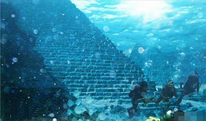 海底金字塔外星人