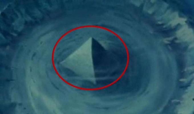 海底金字塔未解之谜