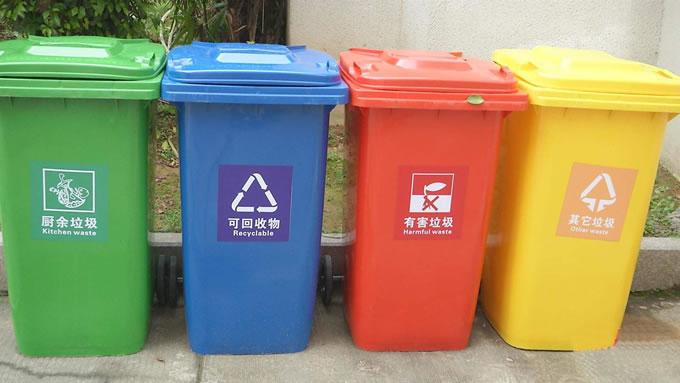 垃圾分类知识,如何区分有害垃圾、可回收垃圾、湿垃圾、干垃圾?