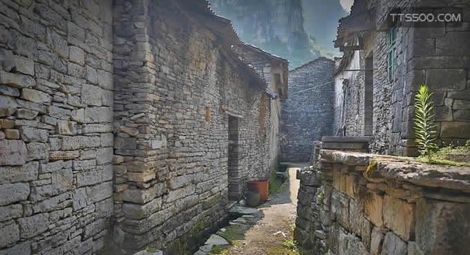桂林阳朔石头城