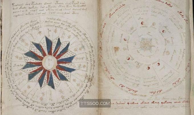 伏尼契手稿高清图片