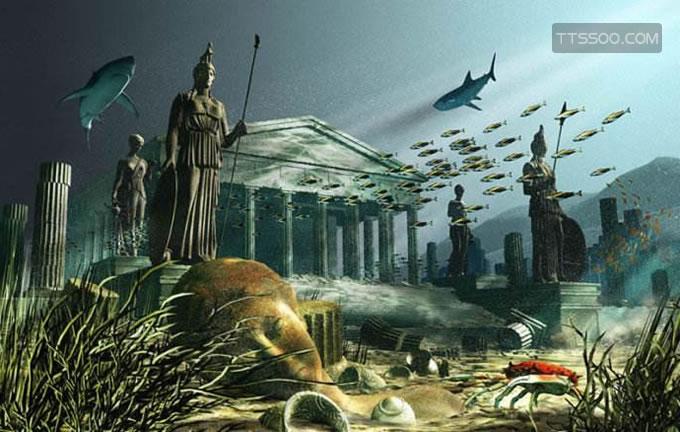 亚特兰蒂斯是一个神国