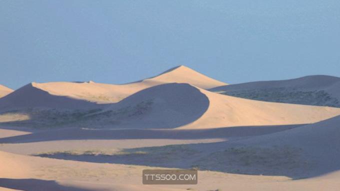 蒙古戈壁沙漠