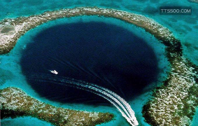 洪都拉斯蓝洞在哪里