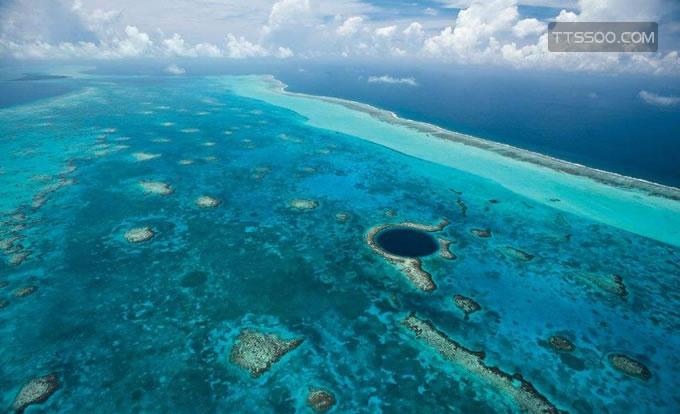 洪都拉斯蓝洞是怎么形成的