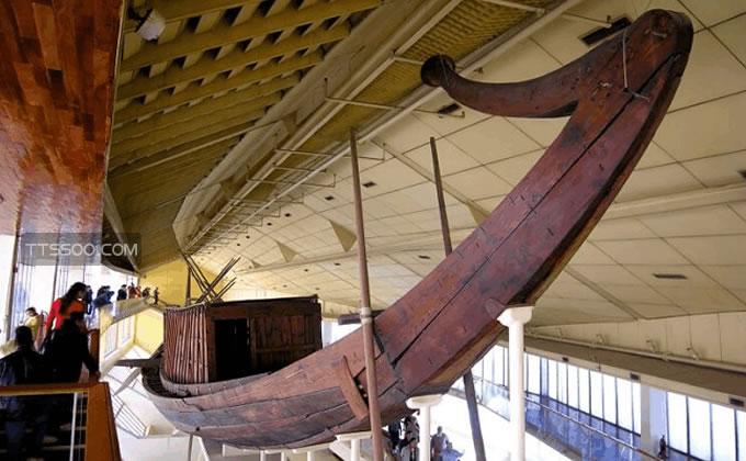 埃及太阳船之谜