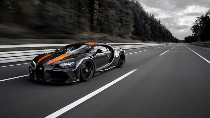 世界上最快的跑车,法国布加迪凯龙(Chiron)超级跑车时速490.5公里