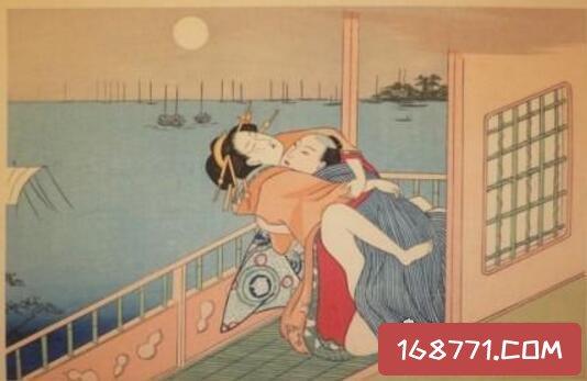 古代日本春宫图大全,9世纪时期的日本人就懂得手口并用