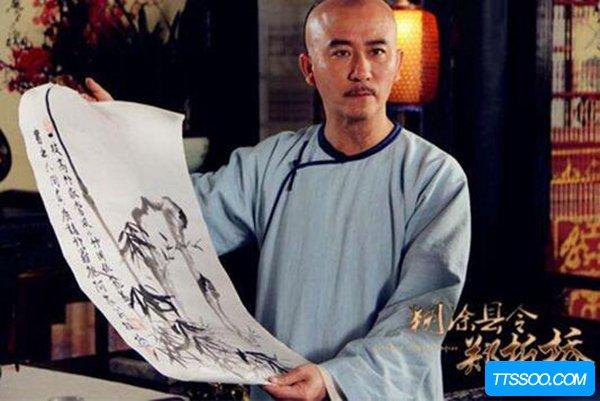 扬州八怪画竹的人是谁?他为什么擅长画竹子(郑板桥)