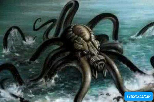 世界18大恐怖怪兽之谜 河童水底拉人/死亡之虫喷毒液