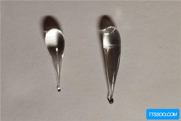 鲁珀特之泪类似眼泪状玻璃 用力捏它的尾部会瞬间爆裂