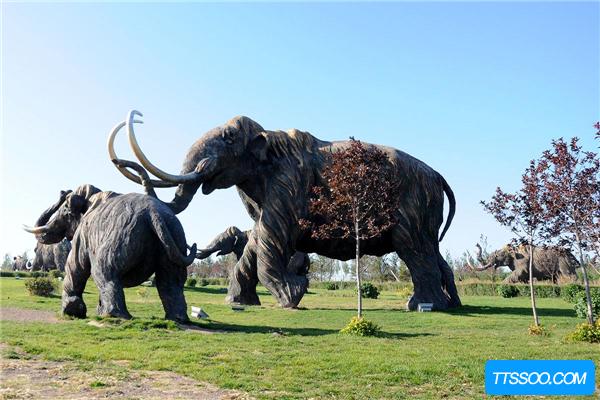 哥伦比亚猛犸象由猛犸象迁移来 以水果为食(皂荚都不放过)