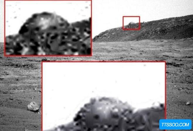 美国火星隐瞒了什么,火星上有建筑(外星人一直在拜访人类)