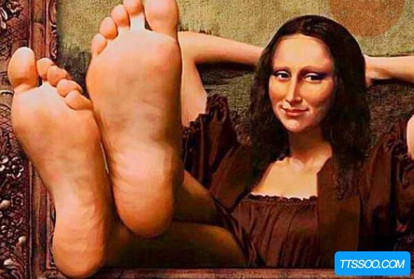 x光下的达芬奇的画,躺着一个神秘女人(神奇的画中画)
